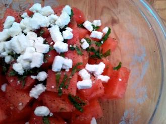 Feta watermelon saladjpg